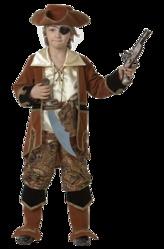 VIP костюмы - Смелый пират коричневый