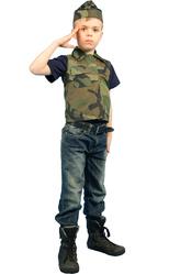 Костюмы для мальчиков - Смелый военнослужащий