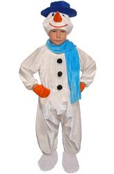 Снеговики - Снеговик в шляпе