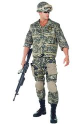 День воздушно-десантных войск - Костюм Мужественный солдат