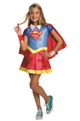 Супергерои и спасатели - Костюм Супердевочка делюкс