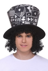 Парики и шляпы - Цилиндр король покера
