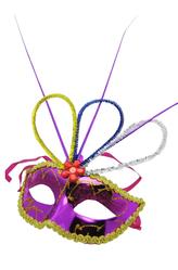 Бразильский карнавал - Цветочная маска