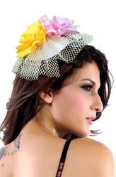 Маленькие шляпки - Цветочная шляпка