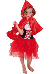 Костюмы для девочек - Веселая красная шапочка