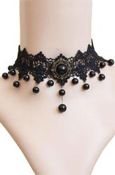 Для костюмов - Винтажное ожерелье с бусинами