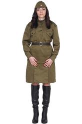 Большие размеры - Костюм Военная леди