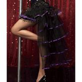 Подъюбники и юбки - Юбка Кабаре с фиолетовой лентой