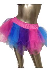 Подъюбники и юбки - Юбка пышная трехцветная