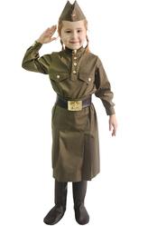 Костюмы для девочек - Юная защитница отечества