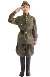 Военные и летчики - Костюм Юный защитник родины