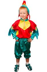 Птицы - Костюм Зеленый петушок