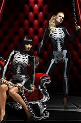 Парики и шляпы - Живой скелет