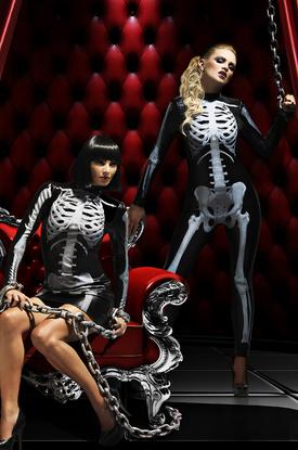 Живой скелет