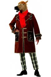 Смешные костюмы - Костюм Знаменитый конь в пальто