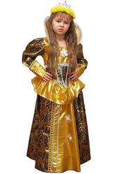 Принцессы - Костюм Золотая королевна