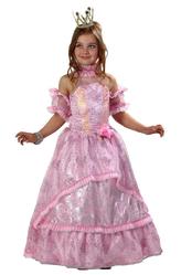 Платья для девочек - Золушка принцесса розовая