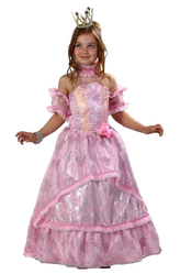 Карнавальные маски - Золушка принцесса розовая