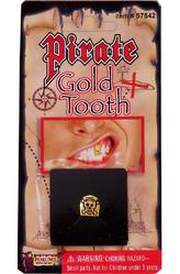 Пиратки - Зуб пирата золотой
